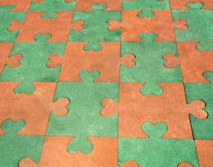 Yapboz Puzzle Kauçuk Kaplama